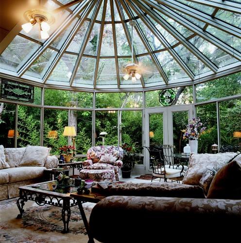Interior 230 Sun & Stars Conservatory Living Room Addition