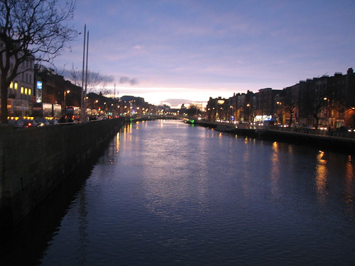 Liffey by Night