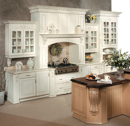 elegant kitchen cabinets fieldstone cabinetry flickr