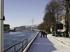 Drammen river