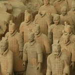 Terracotta Warriors Stand at Attention - Xi'an, China