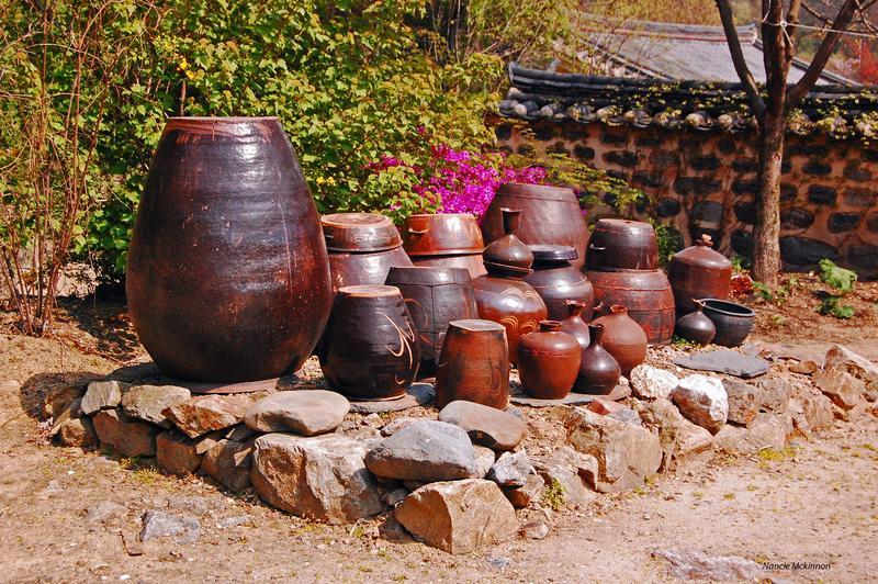 Kimchi Pots and Water Jugs