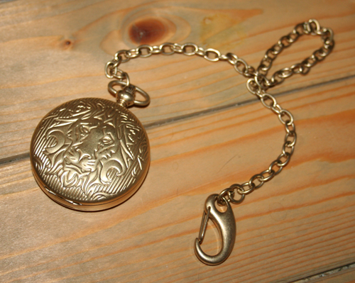 Narnia limited edition Aslan pocket watch by Fossil
