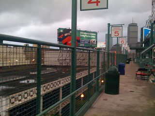 Boston - Fenway Park - Going to the Green Monster seats