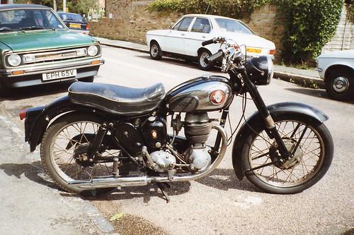 BSA 250cc C12