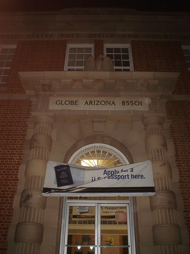 arizona building globe postoffice historic