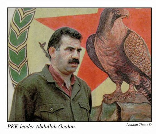 Abdullah Ocalan, leader of the Kurdistan Workers Party (PKK). He has been held in prison since 1998. The US military is threatening to attack PKK supporters in northern Iraq. by Pan-African News Wire File Photos