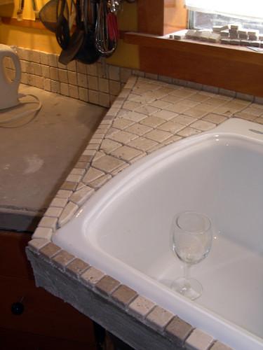 Ceramic Kitchen Countertop Tiles Pie Rating