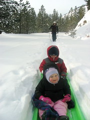 tubing(0.0), winter sport(1.0), winter(1.0), snow(1.0), sledding(1.0), sled(1.0),