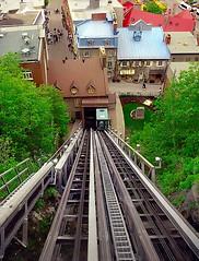 metropolitan area, funicular, vehicle, residential area, track,