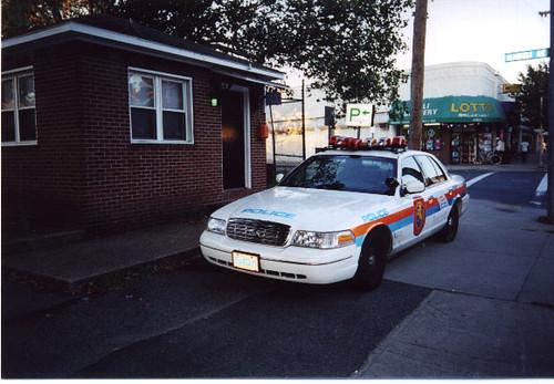 nassau county ny patrol car at police booth 1999 flickr photo sharing. Black Bedroom Furniture Sets. Home Design Ideas