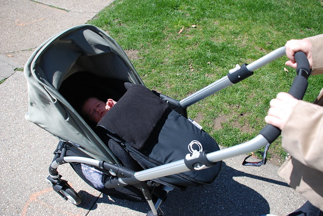 Stroller definition/meaning