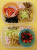 my first bento attempt by three little cupcakes