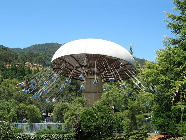 Gilroy Gardens Mushroom Ride Flickr Photo Sharing