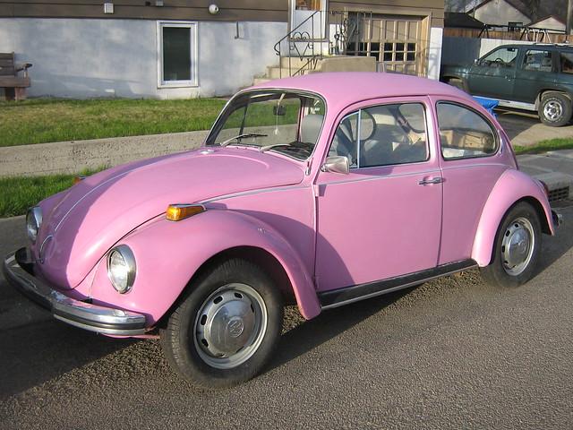 Pink Volkswagen Beetle Cars For Sale