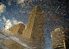 Carew Tower Reflection