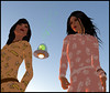 Girls, pyjamas and aliens