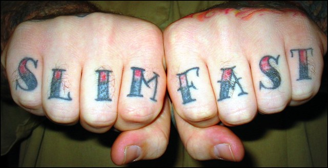 Knuckle Tattoos -