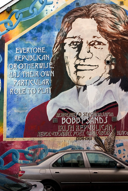 Photo for Bobby sands mural falls road