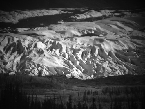 B&W glacier