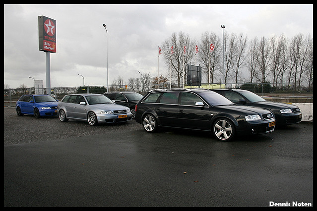 Audi RS4 B5 Avant x2 - RS6 Avant | Flickr - Photo Sharing!