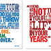 Letterpress posters by andy19at