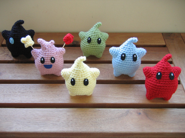 Complete Amigurumi Collection : Complete Luma Collection Flickr - Photo Sharing!