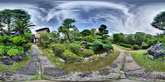 Traditional and proper Japanese garden