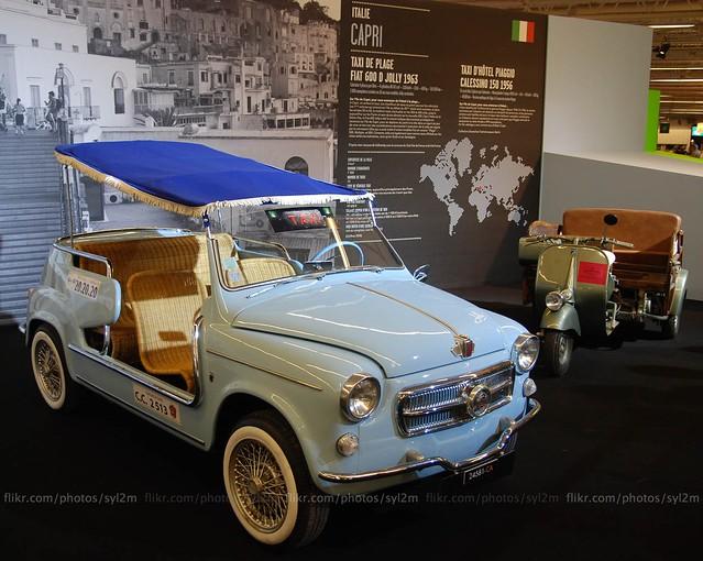 taxi fiat 600 jolly de plage 1963 capri taxi fiat 60 flickr. Black Bedroom Furniture Sets. Home Design Ideas