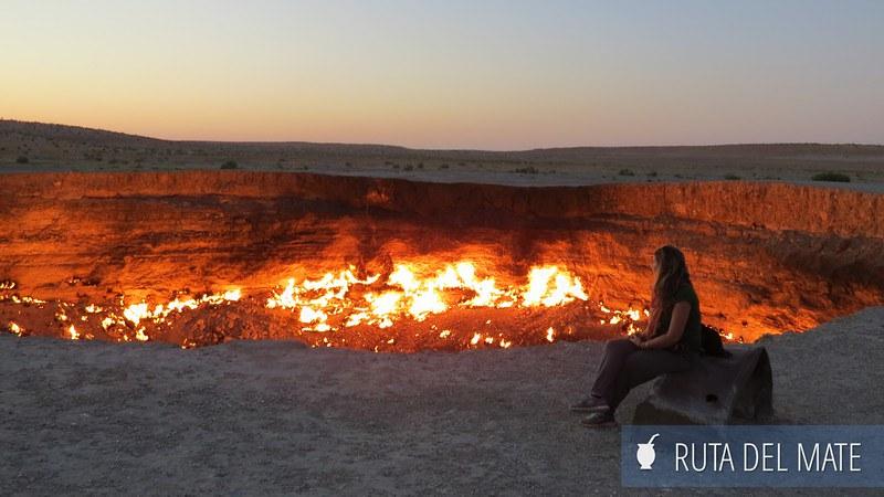 Crater de Darvaza Turkmenistan (4)