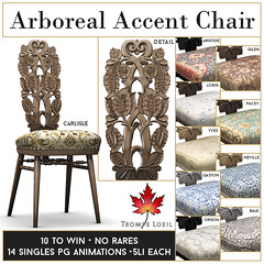 Trompe Loeil - Arboreal Accent Chairs for The Arcade March