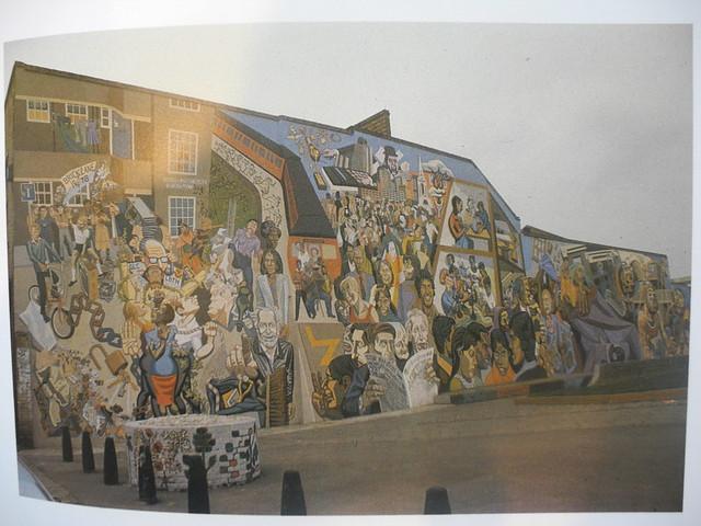 Chicksand Street Mural 1979-80