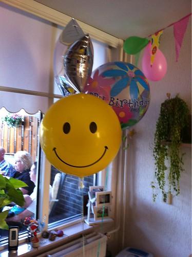 Heliumballonnen Verjaardag Emma Spijkenisse
