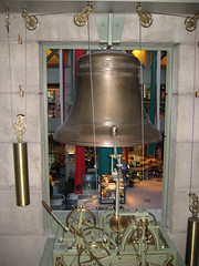 tourist attraction, carillon, room, church bell, bell, interior design,