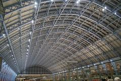 St Pancras International Station at Night