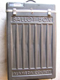 Ballot Box for Alameda County