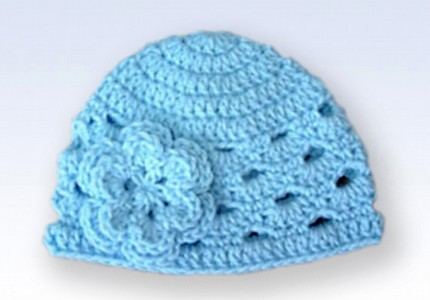 Crocheted Baby Bear Hat - Knit Pro Cro
