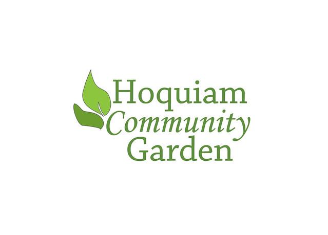 Hoquiam Community Garden Logo EN Flickr Photo Sharing