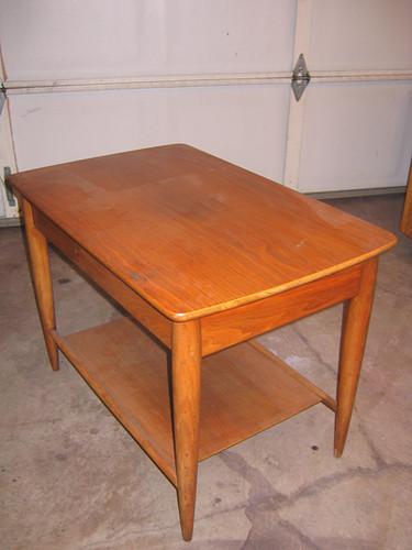 Danish Modern Side Table-$80 OBO