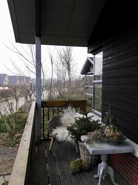 Balkon sober landelijk