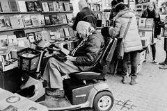 Boekenmarkt Spui.