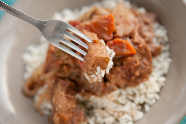 Slow Cooker Peanut Butter Potato Stew Finished 4
