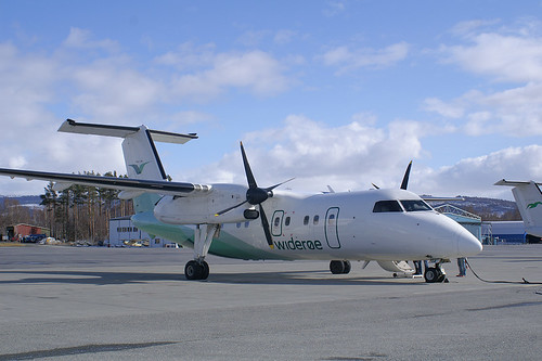 Aircraft: Bombardier Q Series + Join Group