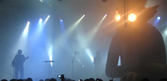 Pink Tones el 1 de Diciembre de 2007 en Bilbao, en la sala Santana 27.