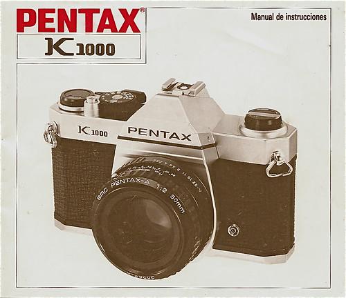 Manual de mi primera cámara reflex (Pentax K1000)