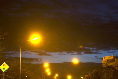 morning ireland sunrise lights limerick