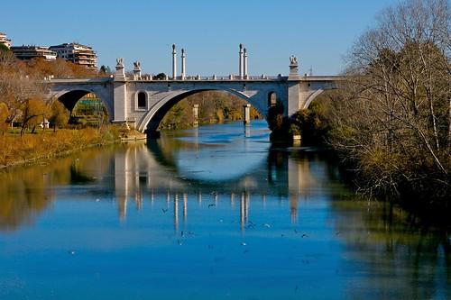 Tevere from Ponte Milvio