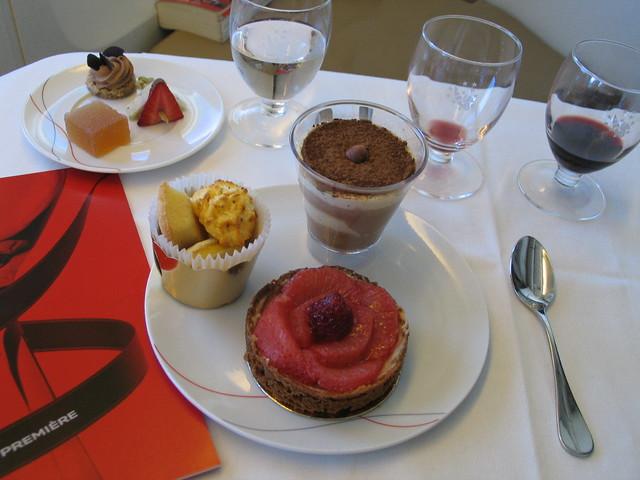Basil pomelo tart, chocolate hazelnut raspberry mousse & b…   Flickr ...