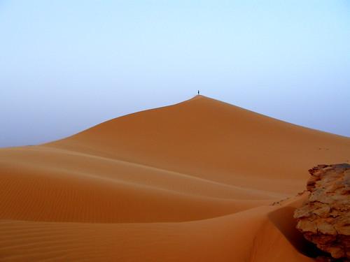 africa sunset sahara sand desert libya erg akakus