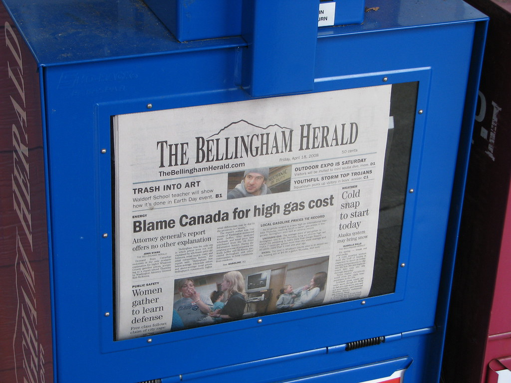 Bellingham Gas Prices >> Blame Canada Really Bellingham The Gas Prices Are Our Fa